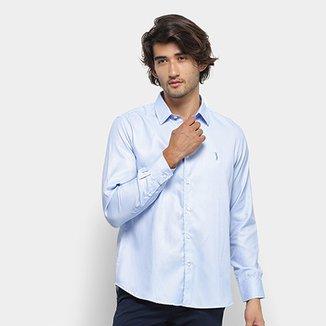 b0027ea57ec Compre Camisa Social Slim Fit Importada Frete Gratis de 80 Modelos ...