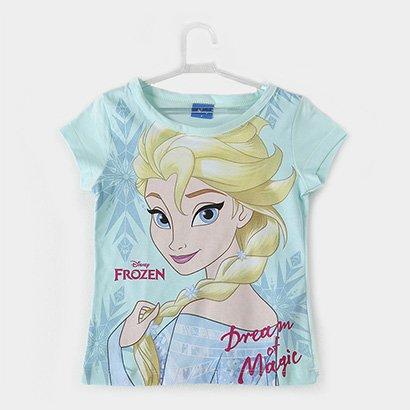 Blusa Infantil Fakini Estampa Frozen Feminina