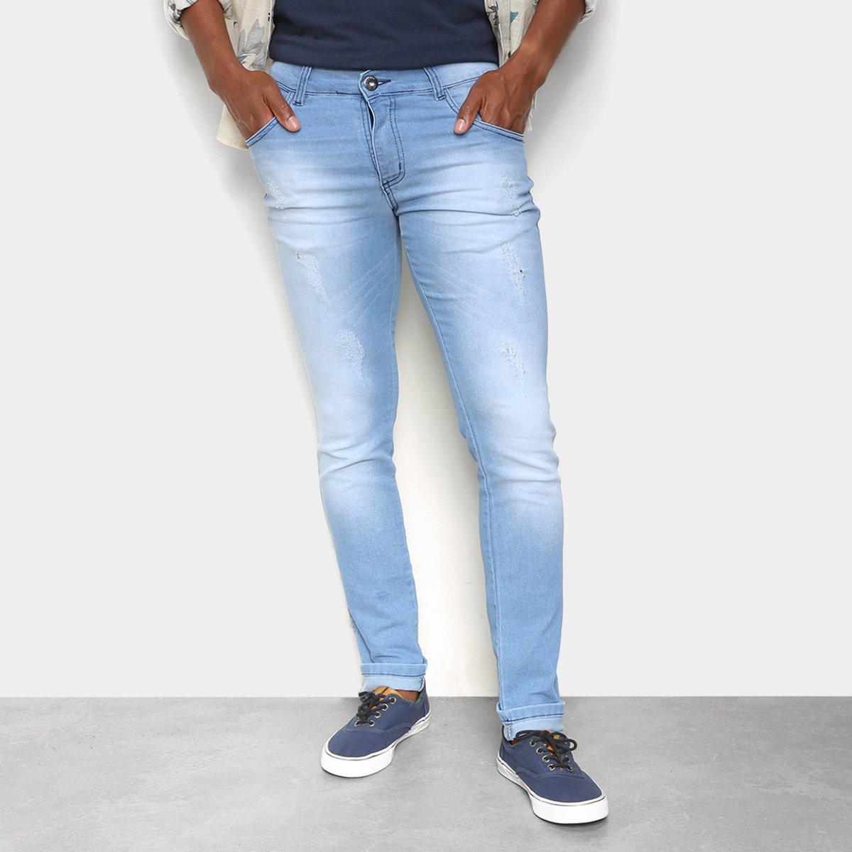 Calça Jeans Coffee Soft Skinny Masculina