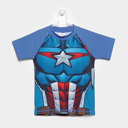 Camiseta Infantil Tip Top Avengers Masculina