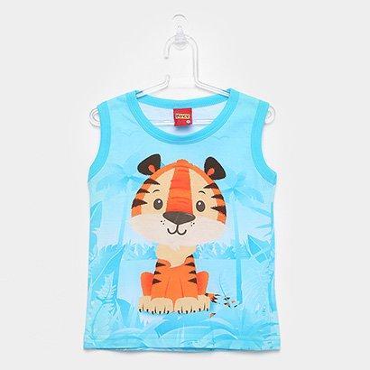 Regata Infantil Kyly Tigre Masculina