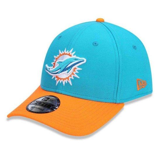 d3a27751d Boné Miami Dolphins 940 Snapback HC Basic - New Era - Azul Claro ...