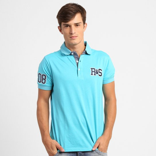 a29c6b3c08685 Camisa Polo Rock   Soda Malha Patch - Compre Agora