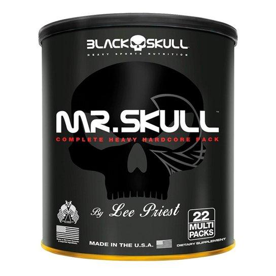 4f52b01f2 Mr Skull 22Packs Black Skull - Pack - Compre Agora