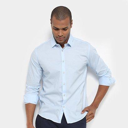 Camisa JAB Slim Fit Básica Masculina