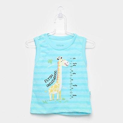Regata Infantil Kiko & Kika Girafa Masculina
