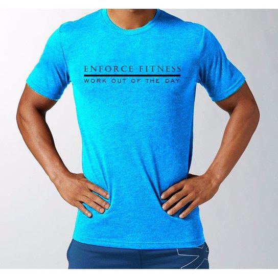 Camiseta Wod para Treino Academia Crossfit Funcional - Enforce Fitness    Cinza   d8e3d0a3c6f6b