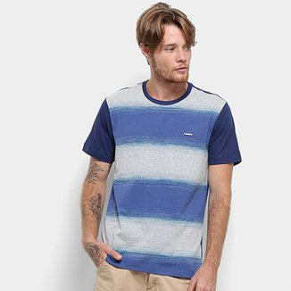 fcbb7c69089b3 Camiseta Long Island Listrada Masculina