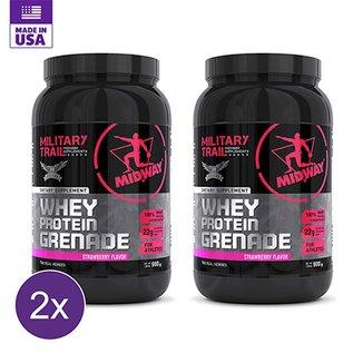 e57b484a5 Kit 2x Whey Protein Grenade Military Trail 900g