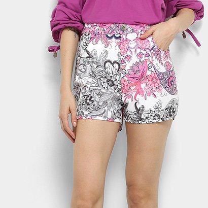 Shorts Hot Pant My Favorite Thing(s) Estampado Feminino