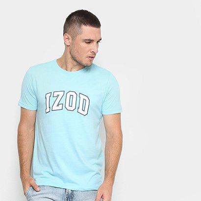 Camiseta Izod Estampada Masculina