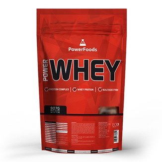 Power Whey - Refil 900 gramas - PowerFoods