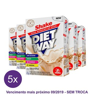 Kit 5x Diet Way 420 g - Midway