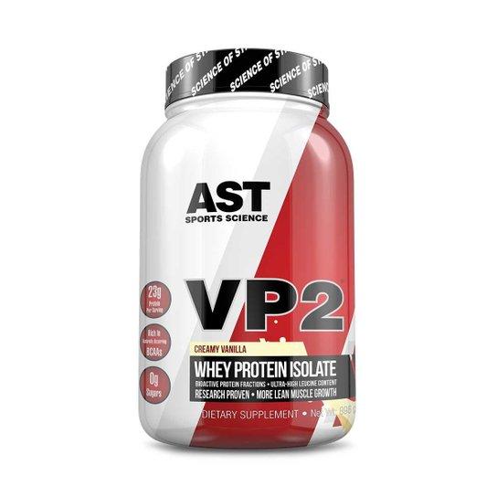 01d91b34a VP2 Whey Protein 100% Hidrolisado e Isolado com Selo Oficial AST Sports  Science por 77i