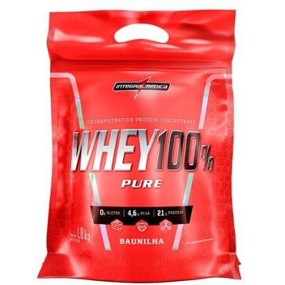 Whey Protein 100% Super Pure 1,8 Kg Body Size Refil - IntegralMédica
