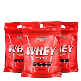 660b82531 Kit Nutri Whey Protein 3x 907 g Refi - IntegralMédica