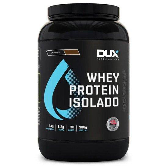 7987f5a21 Whey Protein Isolado DUX - 900g - Baunilha - Compre Agora