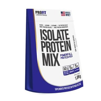 Isolate Protein Mix 1,8kg (refil) - ProFit
