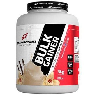 ba83ed162a3bd Bulk Gainer - 3000g Baunilha - BodyAction