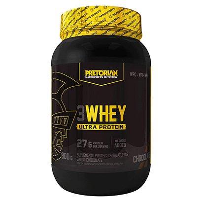 Whey Protein 3W Ultra Protein 900g Exclusivo - Pretorian