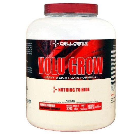 1edb2d352 Hipercalórico Volu Grow 3kg Cellgenix - Baunilha - Compre Agora ...