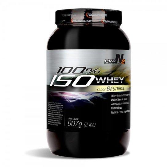 e574a5e13 100%ISO Whey - Proteína Isolada - 907g - Pronutrition ProN2 ...