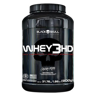 Whey Protein 3 HD Black Skull - 900g