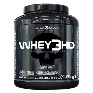 Whey 3 HD 3,97 Lbs - Black Skull