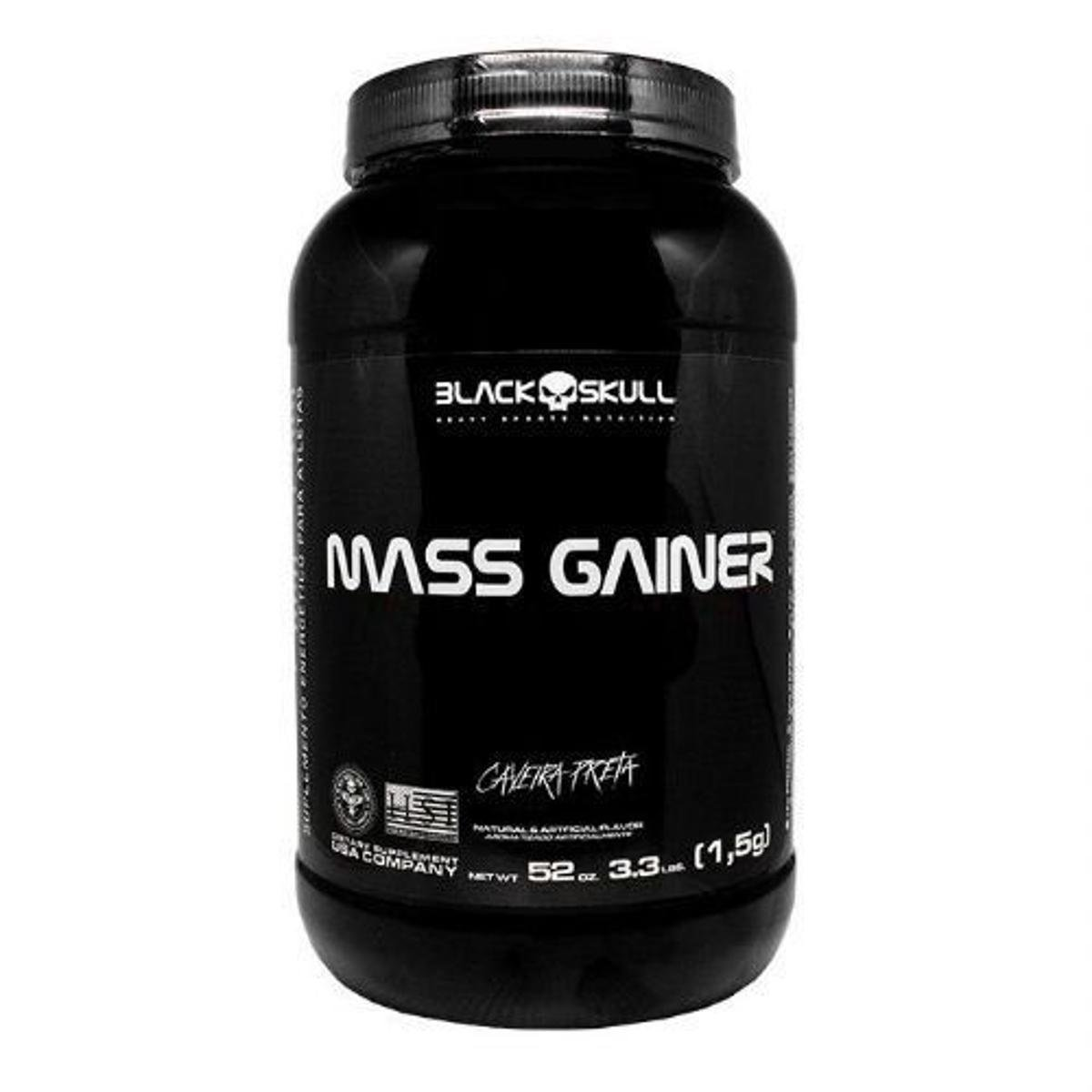 ca894c7cc6 Mass Gainer Black Skull 3.3 Lbs