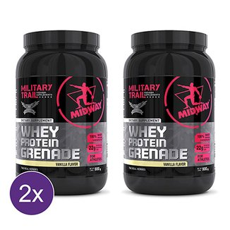 Kit 2x Whey Protein Grenade Military Trail 900g eb5bc5aa15f29