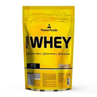 2a4d2a480 Power Whey Protein Refil 907g - PowerFoods