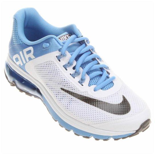 6d79d7b11fd Tênis Nike Air Max Excellerate+ 2 - Branco+Azul Claro