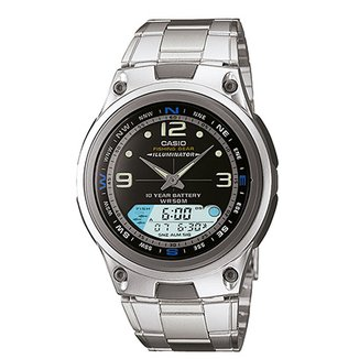 8043d1d2a59 Relógio Casio Analógico Digital AW-82D-1AVDF