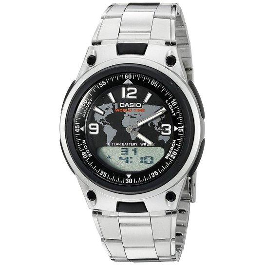 1f354ed260d Relógio Casio AW-80D-1A2VDF Masculino - Prata