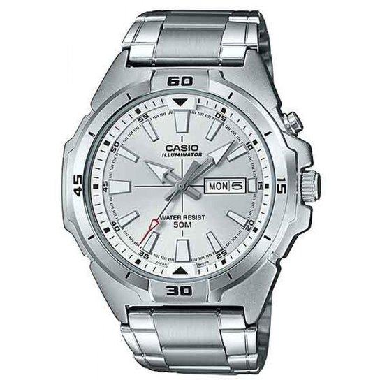 f8cfd88c765 Relógio Casio Mtp-E203d-7avdf-Br Masculino - Prata - Compre Agora ...
