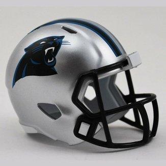 Mini Capacete Riddell Carolina Panthers fa4ed0051ac84