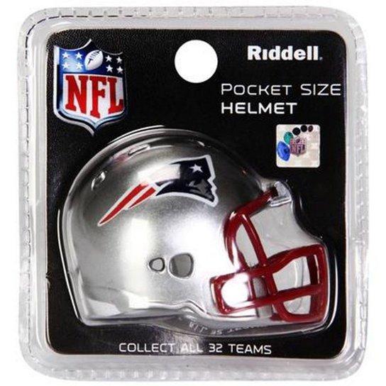 996e8407eea3b Mini Capacete Riddell New England Patriots - Compre Agora