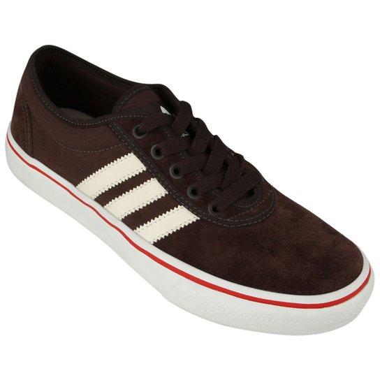 33a74964293 Tênis Adidas Adi Ease - Marrom+Bege ...