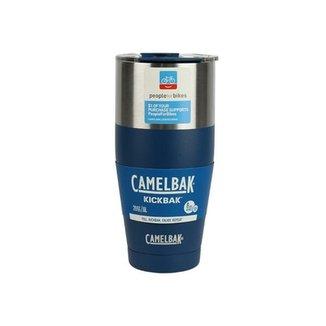 bfd1485b35446 Caneca Térmica Nautika Kickbak Azul 600ml