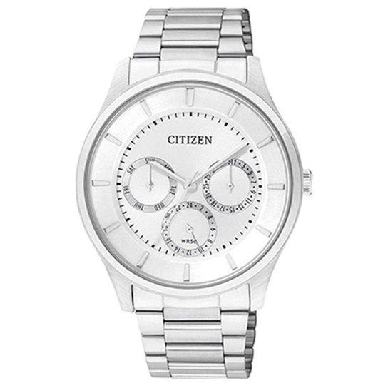 12c9f595b58 Relógio Masculino Citizen Analogico - Prata - Compre Agora