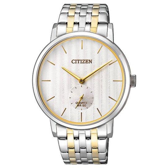 1e90ab7303b Relógio Citizen Analógico TZ20760S Masculino - Prata - Compre Agora ...