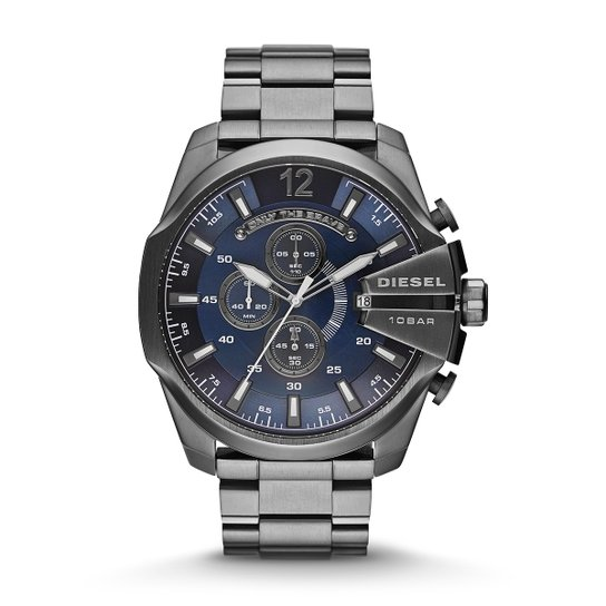 735b63e2ecc00 Relógio Diesel Analógico 10 Bar - Prata - Compre Agora   Netshoes