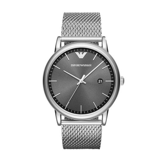 13c695180c5 Relógio Emporio Armani Feminino Luigi - AR11069 1PN AR11069 1PN - Prata