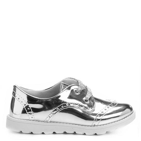 84e5c650e2 Sapato Klassipé Metalizado Infantil - Compre Agora