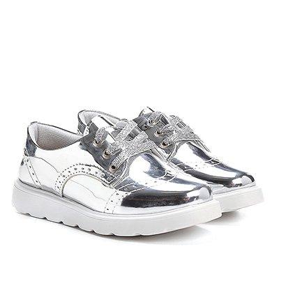 Sapato Klassipé Metalizado Infantil