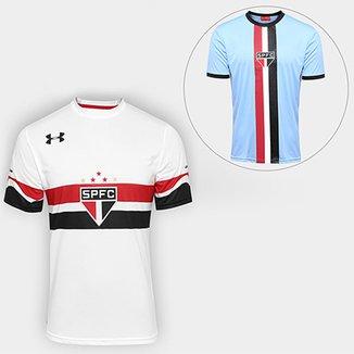 5fb25c501202e Kit Camisa Under Armour São Paulo I 16 17 s nº-Torcedor +