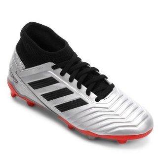9c88a92ab Chuteira Campo Infantil Adidas Predator 19 3 FG