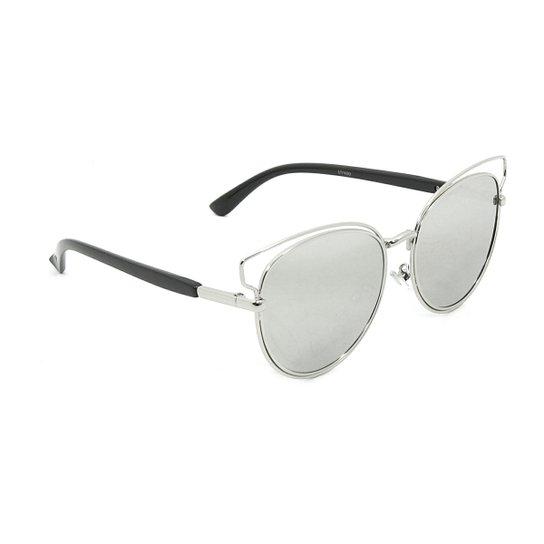 d414b6eb66 Óculos Bijoulux de Sol Estilo Dior Gatinha Espelhado - Compre Agora ...