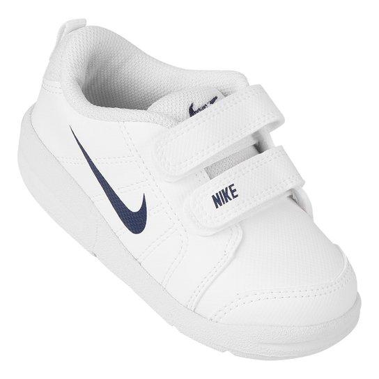 7ed845535d Tênis Infantil Nike Pico Lt Masculino - Branco e Azul Claro - Compre ...