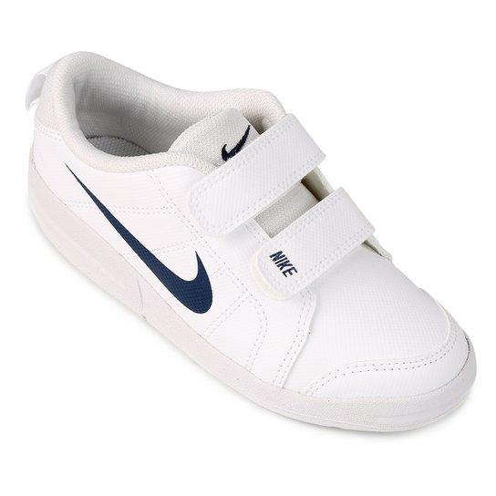 Tênis Infantil Nike Pico Lt - Branco e Azul - Compre Agora  cd6233ea0e789